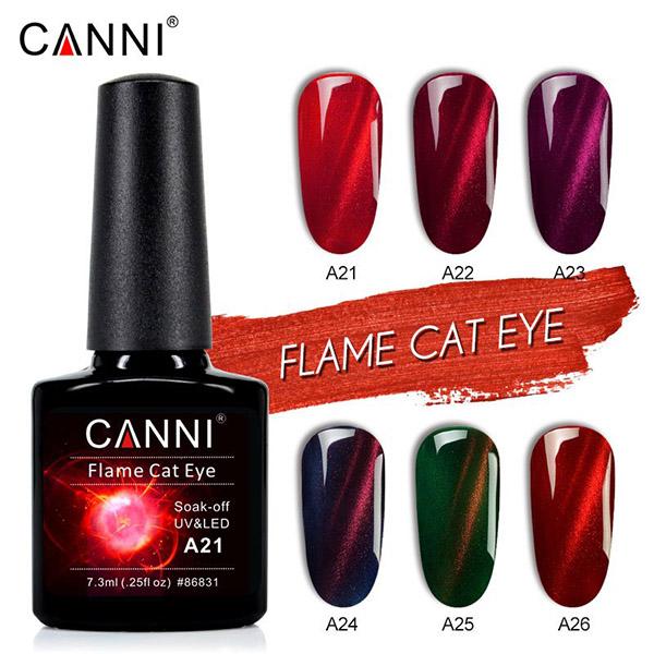 Canni Flame Cat Eye Gel