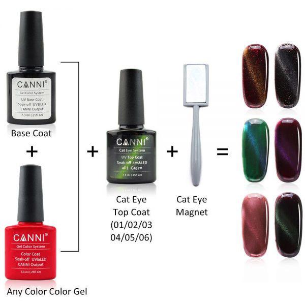 Canni Top Coat Cat Eye Gel