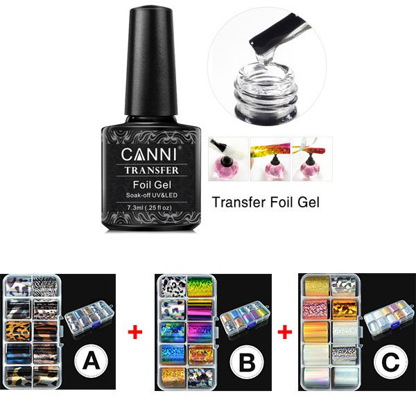 Canni Transfer Foil Set Gel
